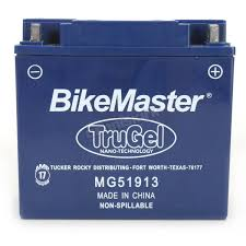 bikemaster trugel 12 volt battery mg51913 motorcycle dennis