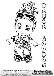 monster high chibi coloring pages baby monster high coloring pages monster high deuce gordon baby