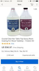 pro marine supplies table top epoxy pro marine supplies bar top epoxy lure building surftalk