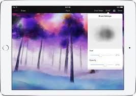 pixelmator 1 1 for ipad adds realistic watercolor painting new