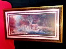 home interiors deer picture home interior buck deer picture ebay