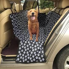 housses de si es voiture empreinte de patte pet chien housses pour sièges de voiture siège