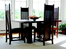 Solid Walnut Dining Table And Chairs Frank Lloyd Wright Furniture Frank Lloyd Wright Furniture By