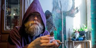 weed smoking brooklyn wizard wants you to join him on his chill