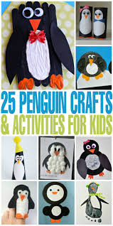 25 penguin crafts u0026 activities for kids frugal mom eh