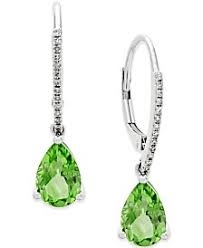peridot earrings peridot earrings shop peridot earrings macy s