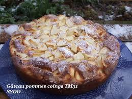cuisiner des coings sens sans dessus dessous gâteau léger pommes coings tm31
