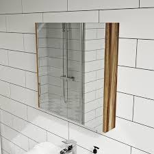 bathroom mirror cabinet clarity walnut 2 door bathroom mirror cabinet victoriaplum com