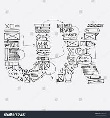 logo ux sketch draw style vector stock vector 277867241 shutterstock