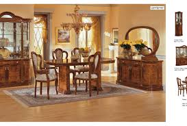 dining wooden italian dining room set in modern look refreshing