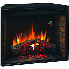Black Electric Fireplace 15 Classicflame 27 In Black Electric Fireplace Insert Selection