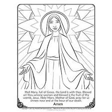 lady guadalupe coloring free printable catholic