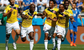 colombia s is the best goal celebration of the world