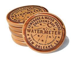 new orleans water meter cover orleans water meter coaster set