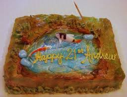 fish birthday cakes birthday cake