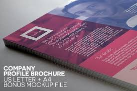 single page brochure templates psd compact single page brochure by indiestock on creativemarket a4