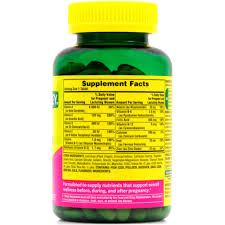 Vitamins That Help With Hair Growth Spring Valley Prenatal Multivitamin Multimineral Dietary