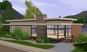 sims 3 modern house floor plans sims modern house house plans 88733
