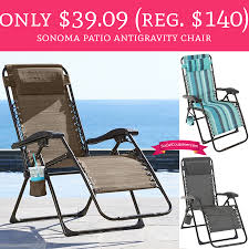 kohls patio chairs sonoma patio chair covers kohls sonoma only regular 140 sonoma patio antigravity chair deal hunting
