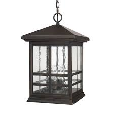 Indoor Hanging Lantern Light Fixture 4 Light Hanging Lantern Capital Lighting Fixture Company