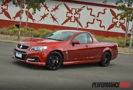 2015 holden ute vf ss v redline review video performancedrive