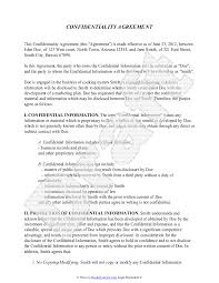 licensing agreement template free confidentiality agreement template free sample confidentiality