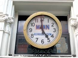coolest wall clocks the coolest old clock on lafayette street ephemeral new york