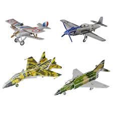 aliexpress com buy educational toy four cute fighter aircraft