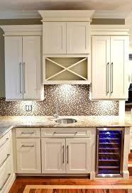 Built In Kitchen Cabinet Wine Rack Man Building A Wine Rack Kitchen Cabinet Insert