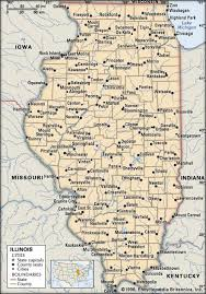 Illinois history geography state united states