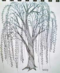 willow tree drawing go back u003e pix for u003e simple willow tree