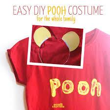diy winnie the pooh costume no sew