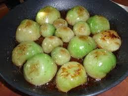 cuisiner tomates vertes tarte tatin aux tomates vertes les couleurs d isa