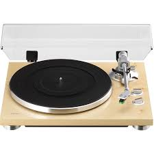 teac tn 300 na 2 speed analog turntable record player natural