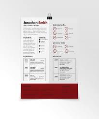 Free Designer Resume Templates The 25 Best Free Creative Resume Templates Ideas On Pinterest