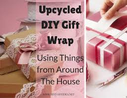 best gift wrap best gift idea upcycled diy gift wrap using things from around the