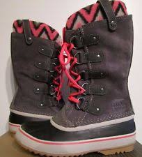 ebay womens sorel boots size 9 sorel winter lace up boots for ebay