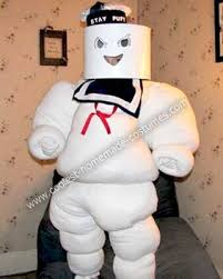 Ghostbusters Halloween Costumes 25 Marshmallow Man Costume Ideas Ghostbusters