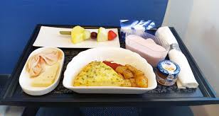 klm inflight meal review