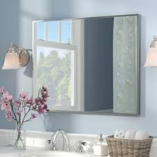 modern rectangle wall mirrors allmodern