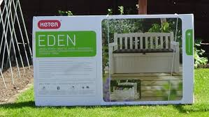 keter eden storage bench assembly instructions youtube