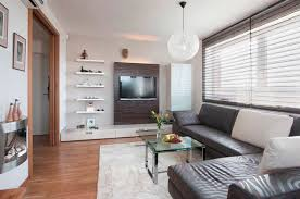 Ways To Incorporate Wallmounted TVs And Shelves Into Your Decor - Living room design tv