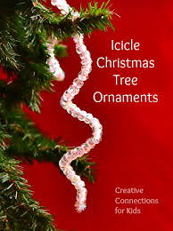 icicle tree ornament