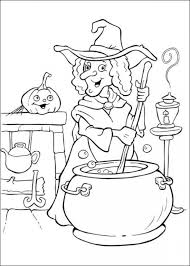 witch coloring for halloween 5 halloween pinterest
