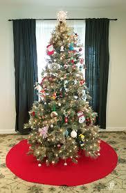 christmas skirt diy christmas tree skirt a no sew tree skirt smart diy