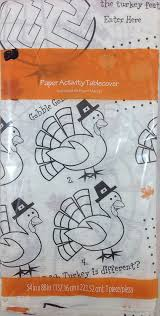 thanksgiving stationery paper amazon com paper activity happy thanksgiving tablecover toys u0026 games