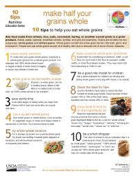10 tips to help you eat more grains http www foodpyramid com