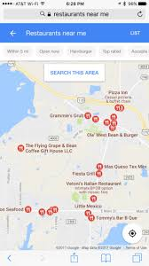 map of restaurants near me 52 local seo strategies for smbs