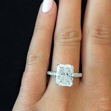 radiant cut engagement ring interesting emerald cut cushion engagement rings 30 for home