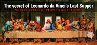 the last supper by leonardo da vinci mary magdalene or apostle john